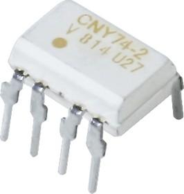 Фото 1/2 CNY74-2H, Оптопара с транзисторным выходом [DIP-8] (АОТ101 АС,БС)