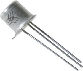 КТ117А никель, Транзистор однопереходной с N-базой малой мощности [металл]