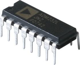 ADM232LJNZ, Высокоскоростной приемопередатчик RS-232 [DIP-16]