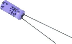 ECAP NP (К50-6), 10 мкФ, 25В 85°C, Конденсатор электролитический алюминиевый неполярный