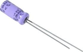 ECAP NP (К50-6), 22 мкФ, 16В 105°C, Конденсатор электролитический алюминиевый неполярный
