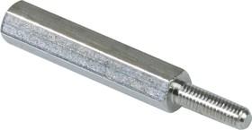 DA5M3X25, Стойка шестигранная для печатных плат,М3, 25мм (OBSOLETE)