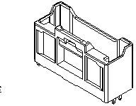 Фото 1/2 5016451020, Conn Shrouded Header (4 Sides) HDR 10 POS 2mm Solder ST Thru-Hole iGrid™ Tray