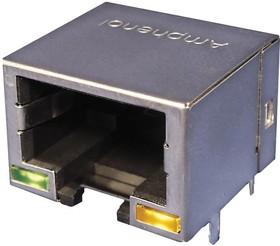 RJE73-188-00240, CONNECTOR, MODULAR JACK, 1PORT, 8P8C
