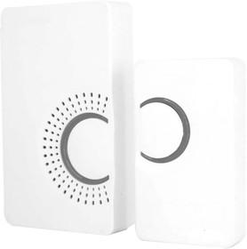 Звонок электр дверной, 36 мелодий, белый, серый, E-373 23686