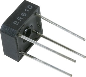 KBPC610 (BR610), Диодный мост 6А 1000В [KBPC6]