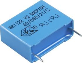 B81122-A1104-M, 0.1 мкф, 250В, Y2, Конденсатор подавления ЭМП
