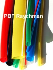 PBF D:6.4/3.2 мм (желто-зеленая), Трубка термоусадочная (1м)