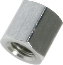 DI5M3X05, Стойка шестигранная для печатных плат,М3, 5мм (OBSOLETE)