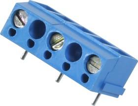 XY300R (310), Клеммник винтовой 3-контактный, 10мм угловой