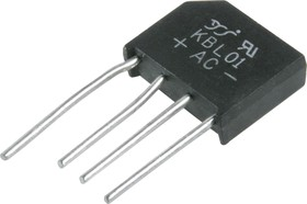 KBL401 (KBL01, RS402), Диодный мост 4А 100В [KBL]