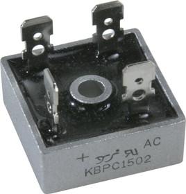 KBPC1502 (MB152), Диодный мост 15А 200В [KBPC]