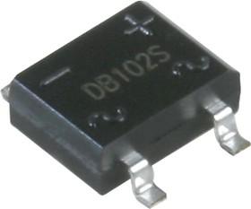 DB102S, Диодный мост 1A 100В [DB-1S]