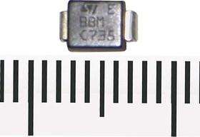 SMBJ30CA, Защитный диод двунаправленный, 600Вт, 30В, [SMB / DO-214AA]