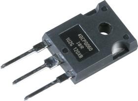 VS-40CPQ060PBF, Выпрямитель Шоттки, 60 В, 20 А, Двойной Общий Катод, TO-247AC, 3 вывод(-ов), 490 мВ