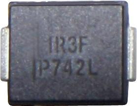 Фото 1/4 VS-30BQ040-M3/9AT, Диод Шоттки 3А 40В [SMC / DO-214AB] (VS-30BQ040TRPBF)
