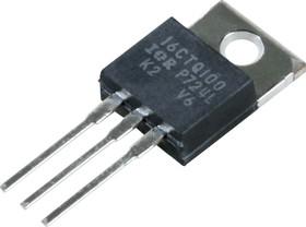 Фото 1/3 VS-16CTQ100-N3 (VS-16CTQ100PBF), 2 диода Шоттки 16А 100В [TO-220AB]