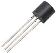 Фото 1/2 КТ3107В, Транзистор PNP 30В 0.1А 0.3Вт 250Мгц TO92 (КТ-26)