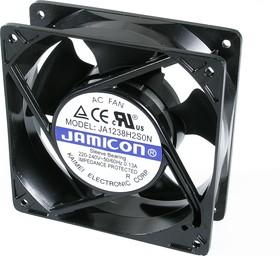 JA1238H2S(S22H), Вентилятор 220В, 120х120х38мм, подшипник скольжения 2600 об/мин (клеммы)