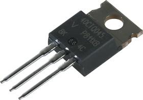 VS-40CTQ045PBF, Диод Шоттки, 2 х 20А, 45В, общий катод [TO-220AC] (VS-40CTQ045-N3)