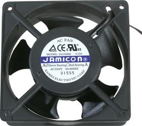 JA1238H2S(S22Н), Вентилятор 220В, 120х120х38мм, подшипник скольжения 2600 об/мин, гибкие выводы