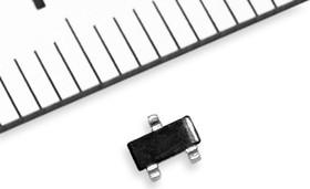 Фото 1/2 BC857C.215, Транзистор PNP 45В 0.1А 0.3Вт [SOT-23]