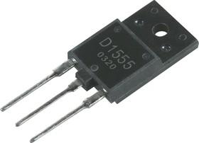 2SD1555, Транзистор NPN с обратным диодом, 800В 5А 50Вт [TO-3PML] | купить в розницу и оптом