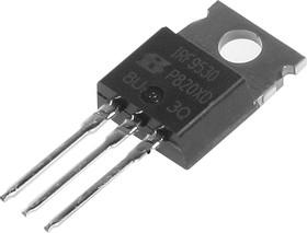 Фото 1/3 IRF9530PBF, Транзистор, P-канал 100В 12А [TO-220AB]