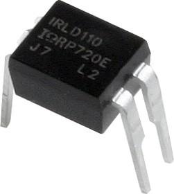 Фото 1/3 IRLD110PBF, Транзистор, N-канал 100В 1А [HD-1]