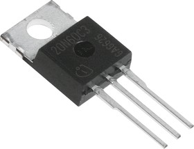SPP20N60C3, Транзистор, N-канал 600В 20А 0.19Ом [TO-220AB]