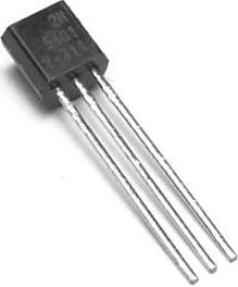 2N5401YBU (2N5401), Транзистор PNP 150В 0.6А 0.6Вт [TO-92]