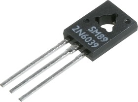 2N6039, Транзистор NPN Darlington 80В 4А 40Вт [TO225-3]