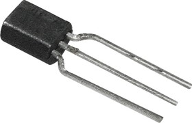 BC337-16/RA, Транзистор NPN 45В 1А 0.6Вт [TO92]