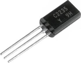 2SC2235, Транзистор NPN 120В 0.8A 0.9Вт 120МГц [TO-92MOD]