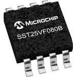 Фото 2/2 SST25VF080B-50-4I-S2AF, Микросхема памяти, NOR Flash, Serial-SPI, 3.3V, 8Мбит (1M x 8), 8нс [SOIC-8]