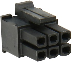 10127716-22LF, RECEPTACLE CONNECTOR HOUSING, 22 POSITION, 3MM