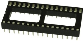 Фото 1/2 DILB28P-223TLF, ИС и гнездо компонента, 28 контакт(-ов), Гнездо DIP, 2.54 мм, 15.24 мм, Медный Сплав
