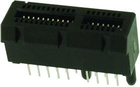 10018783-10200TLF, Card Edge Connector, Dual Side, 1.57 мм, 36 Contacts, Монтаж в Сквозное Отверстие, Straight, Пайка