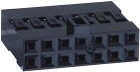 65846-007LF, Разъем типа провод-плата, 2.54 мм, 14 контакт(-ов), Гнездо, FCI Mini-PV 65846 Series, 2 ряд(-ов)