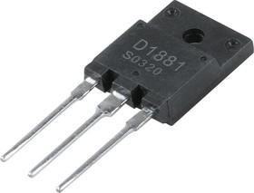 2SD1881, Мощный высоковольтный NPN транзистор, управление горизонтальной (строчной) разверткой ТВ