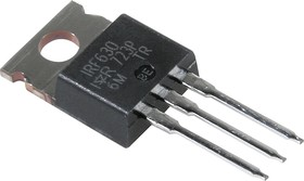 Фото 1/2 IRF630PBF, Транзистор, N-канал 200В 9.0А [TO-220AB]