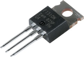 Фото 1/7 IRF1310NPBF, Транзистор, N-канал 100В 42А [TO-220AB]