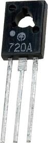 КТ720А (BD170), Транзистор PNP, низкочастотный, большой мощности, TO-126 (КТ-27)