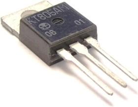 Фото 1/2 КТ805АМ, Транзистор NPN, среднечастотный, большой мощности, TO-220 (КТ-28)