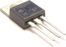КТ805БМ, Транзистор NPN, среднечастотный, большой мощности, TO-220 (КТ-28)