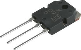 KTD718-O (2SD718), Транзистор NPN 120В 8А 80Вт [SC-67]