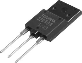 S2000N, Биполярный NPN транзистор, управление горизонтальной (строчной) разверткой