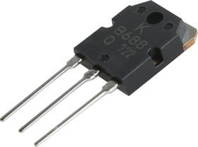 KTB688-O (2SB688), Транзистор PNP 120В 10А 80Вт [TO-3P]