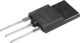 Фото 1/2 2SD2499, Транзистор NPN 600В 6А 50Вт [TO3P]