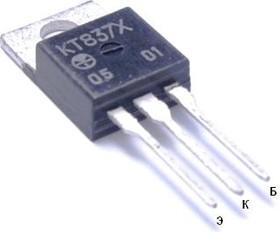 Фото 1/2 КТ837Х, Транзистор PNP, усилительный